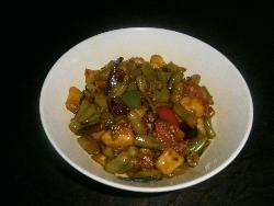 Aloo Beans Subzi