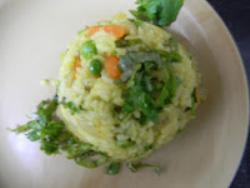 Carrot Garlic Masala Rice