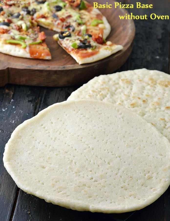 Basic Pizza Base Without Oven, How To Make Basic Pizza Base Recipe
