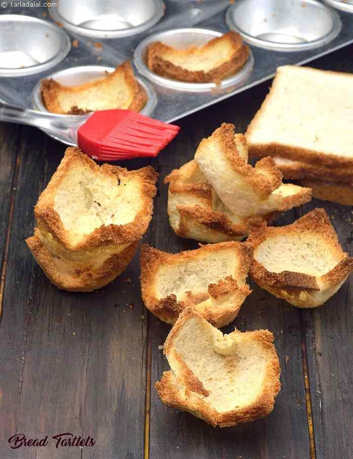 Bread Tartlets ( Quick Recipe)