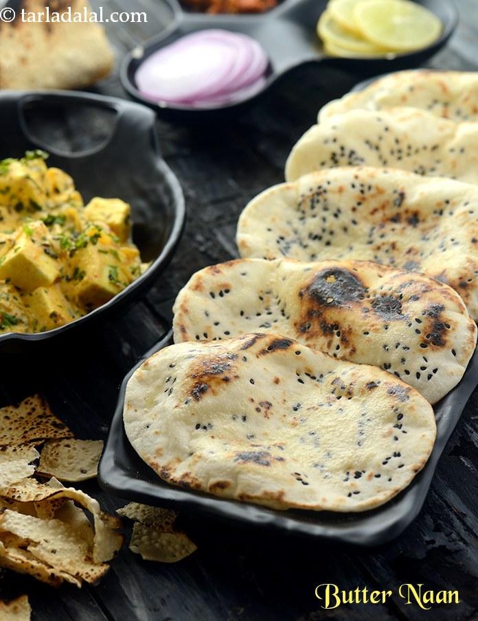 Butter Naan, How To Make Butter Naan