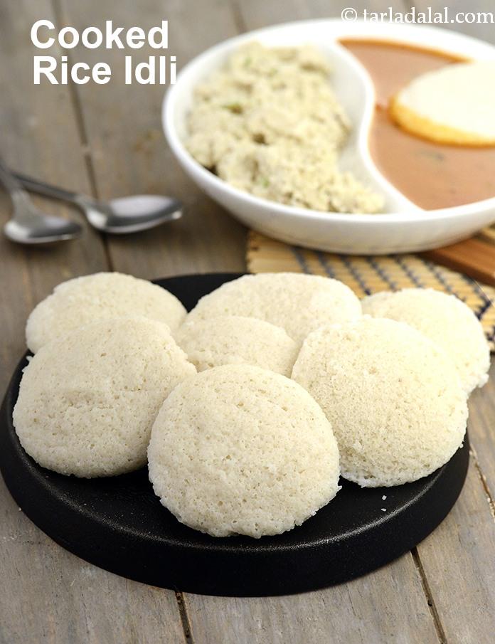 Cooked Rice Idli