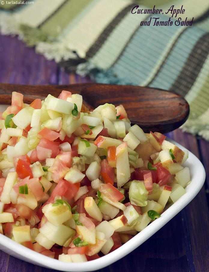 Cucumber, Apple and Tomato Salad
