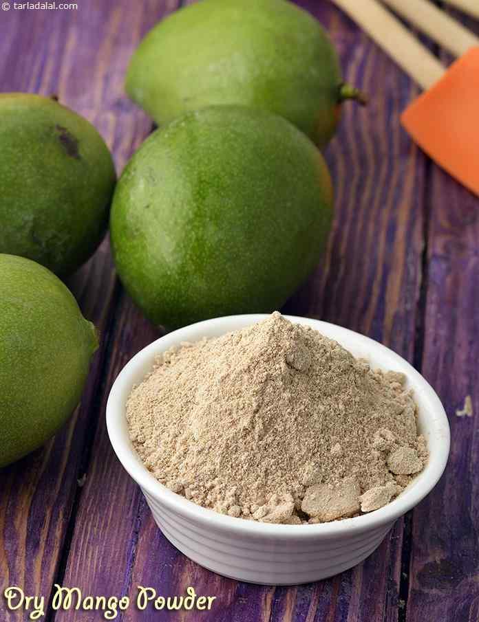 Dry Mango Powder ( Mumbai Roadside Recipes )