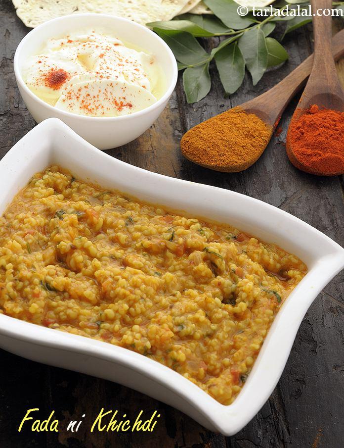 Fada Ni Khichdi ( Gujarati Recipe)