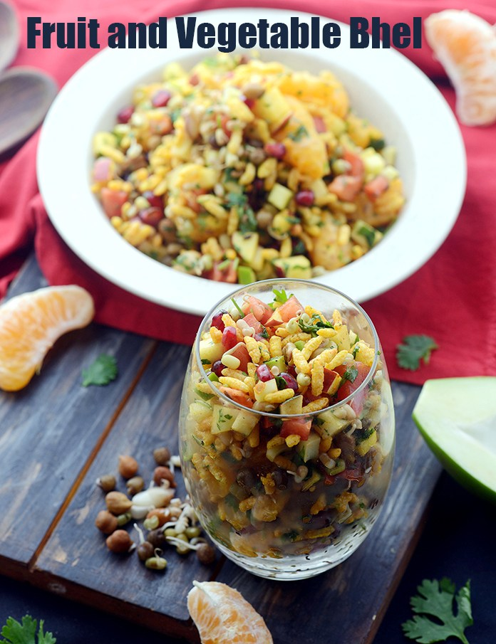 Fruit and Vegetable Bhel