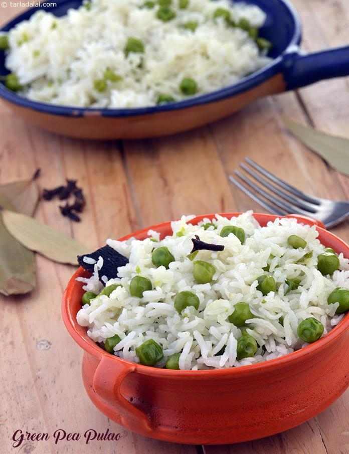 Green Peas Pullav