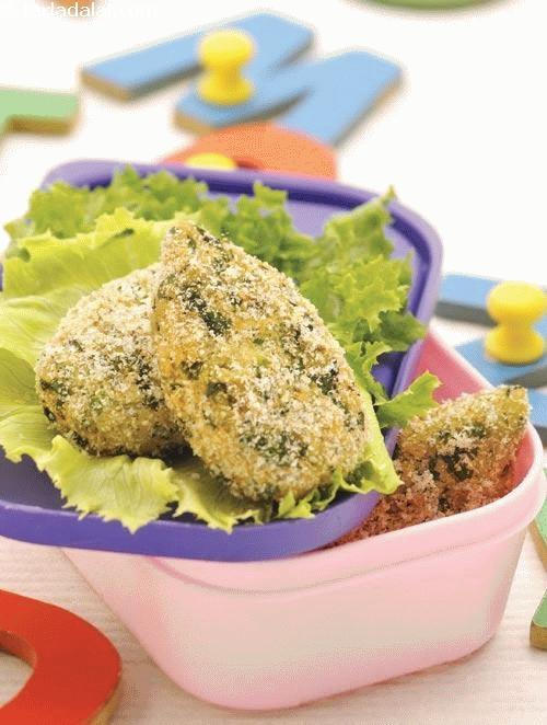 Hara Bhara Kebab ( Tiffin Treats for Kids )