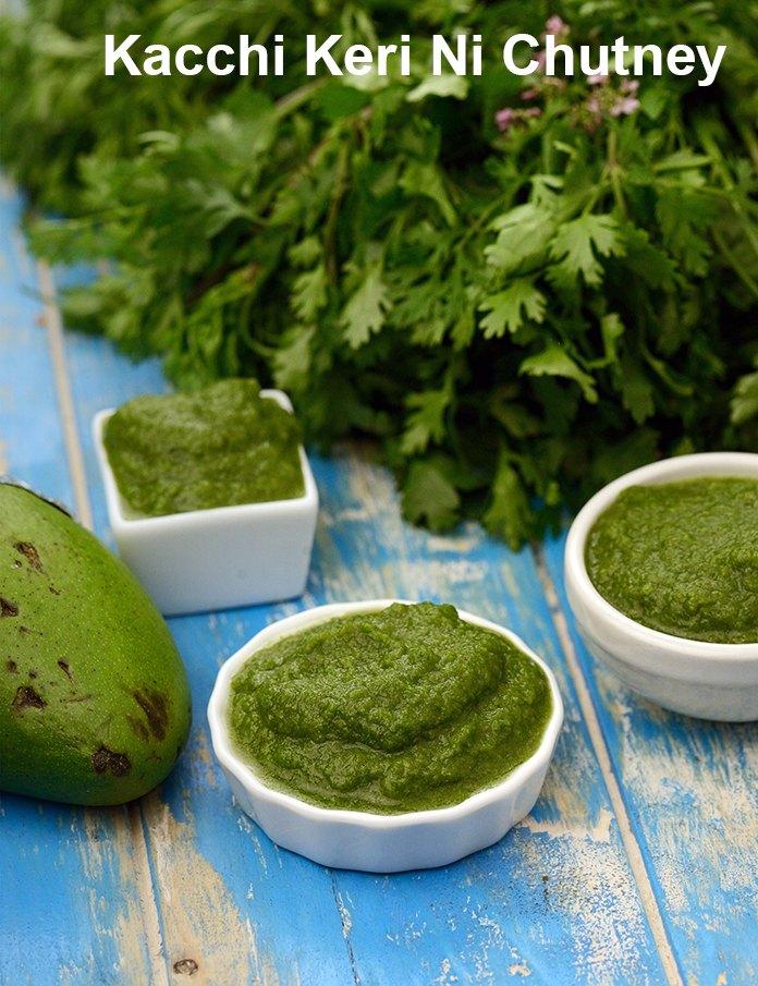 Kacchi Keri Ni Chutney ( Gujarati Recipe)
