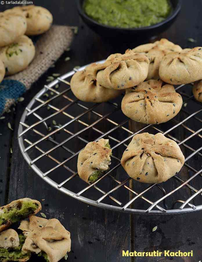 Matarsutir Kochuri, Healthy Bengali Snack