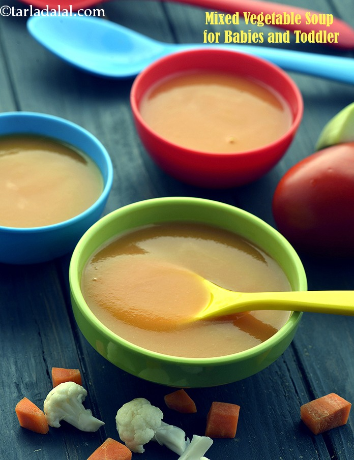 Mixed Vegetable Soup  (  Baby and Toddler)