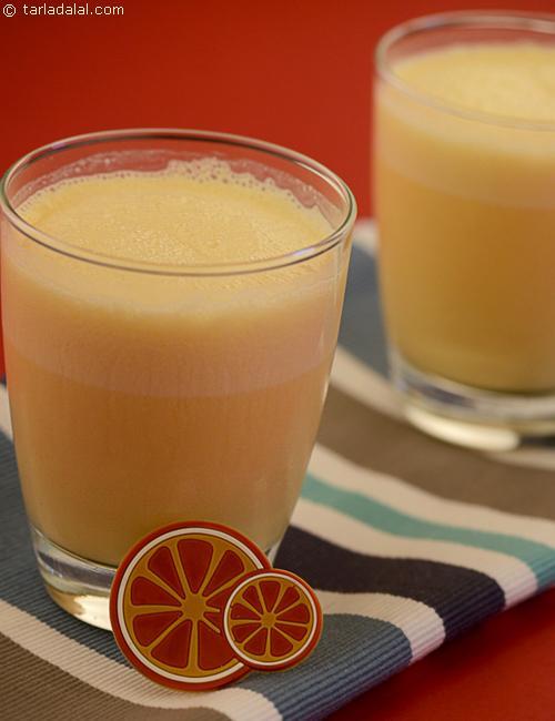 Orange Yoghurt Shake ( Kids Recipe)