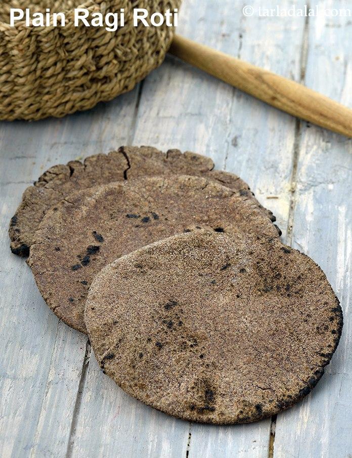 Plain Ragi Roti, Plain Nachni Roti