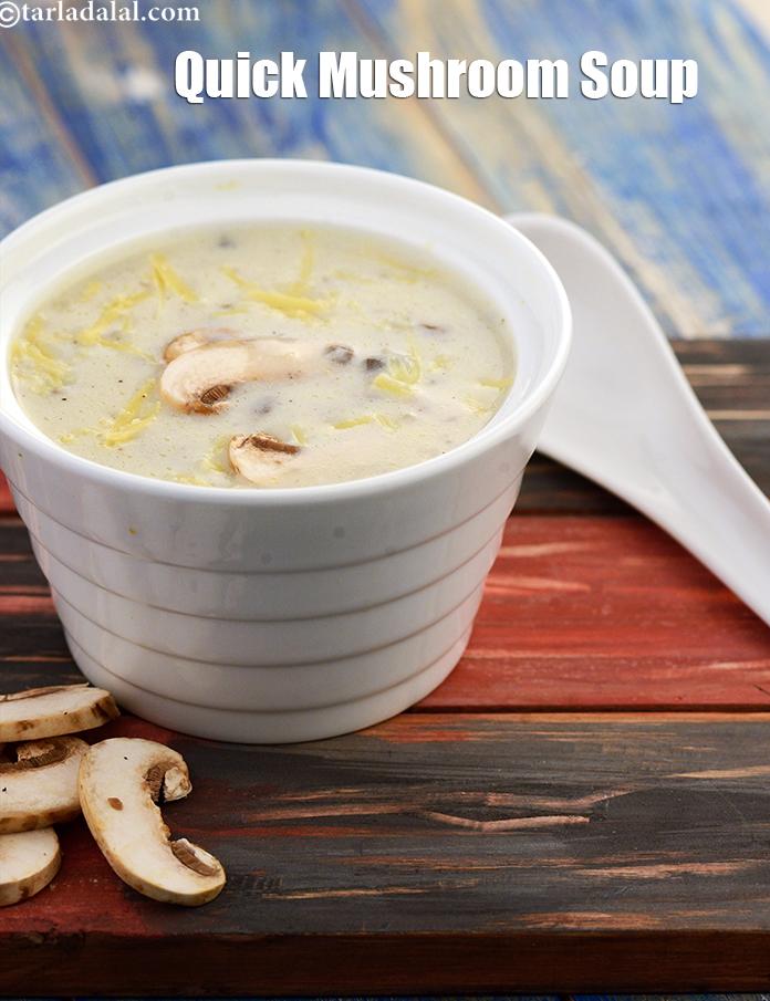 Quick Mushroom Soup