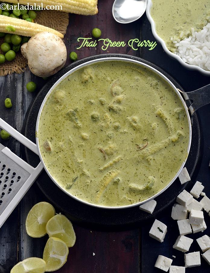 Thai Green Curry, Veg Thai Green Curry