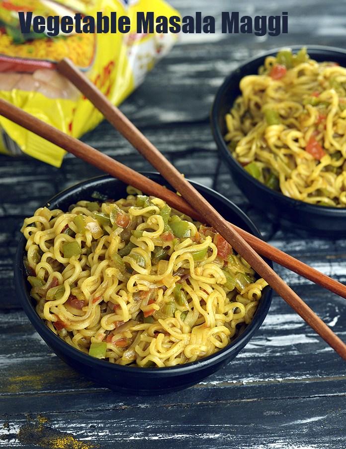 Vegetable Masala Maggi, Masala Maggi Noodle