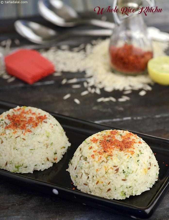 Whole Rice Khichu